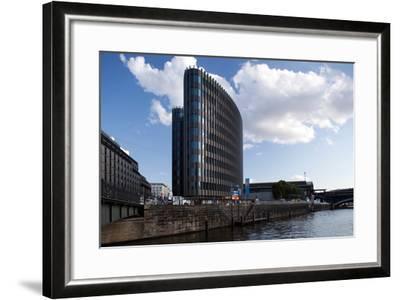 Urban City Scene in Berlin, Germany-Felipe Rodriguez-Framed Photographic Print