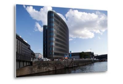 Urban City Scene in Berlin, Germany-Felipe Rodriguez-Metal Print