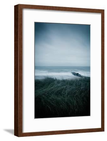 Winter Seascape-David Baker-Framed Photographic Print