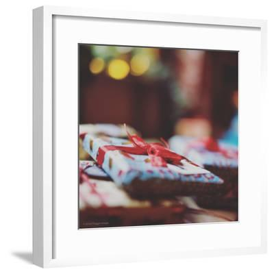 Wrapped Xmas Presents-Tim Kahane-Framed Photographic Print