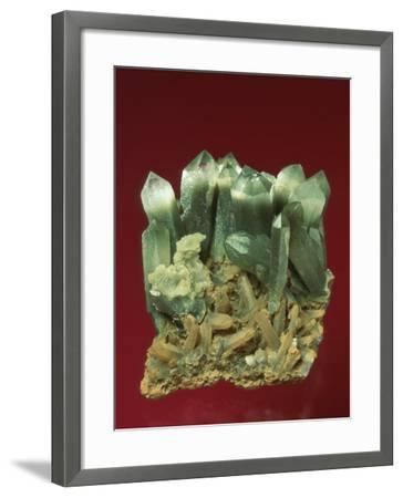 Quartz Crystals-Mark Schneider-Framed Photographic Print