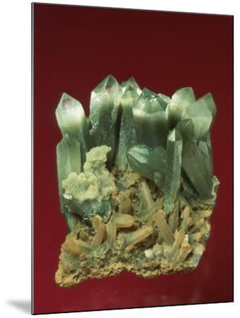 Quartz Crystals-Mark Schneider-Mounted Photographic Print