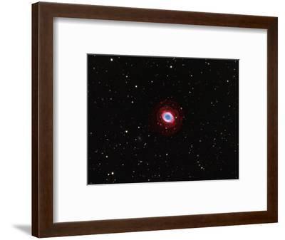M57, Planetary Nebula in Lyra-Robert Gendler-Framed Photographic Print