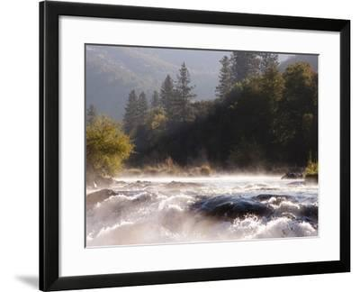 The Rogue River in the Southwestern Part of Oregon Flows About 215 Miles-Sean Bagshaw-Framed Photographic Print
