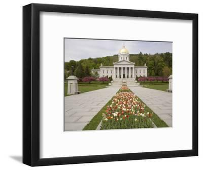 Vermont State Capitol Building, Montpelier, Vermont--Framed Photographic Print