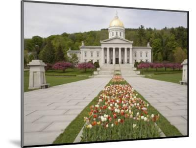 Vermont State Capitol Building, Montpelier, Vermont--Mounted Photographic Print
