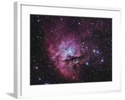 Ngc 281, Emission Nebula and Open Cluster in Cassiopeia-Robert Gendler-Framed Photographic Print