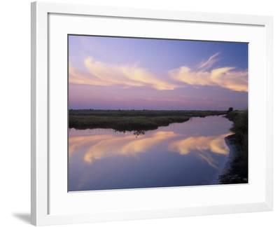Sunrise, Merritt Island National Wildlife Refuge, Florida, USA-Adam Jones-Framed Photographic Print