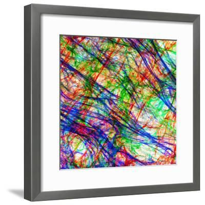 Extracellular Matrix Is the Substance of a Tissue Which Is Not a Cell-Edna Cukierman-Framed Photographic Print