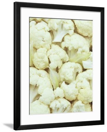 Pieces of Crunchy, Nutritious Cauliflower(Brassica Oleracea)-Wally Eberhart-Framed Photographic Print