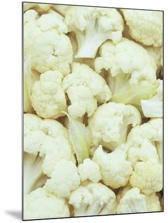 Pieces of Crunchy, Nutritious Cauliflower(Brassica Oleracea)-Wally Eberhart-Mounted Photographic Print