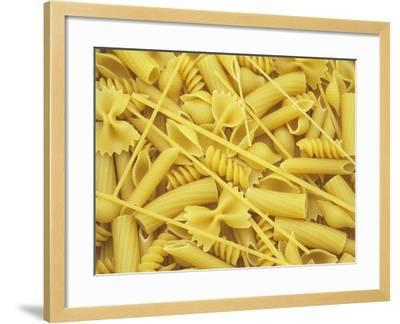 A Selection of Popular Pasta Shapes-Wally Eberhart-Framed Photographic Print