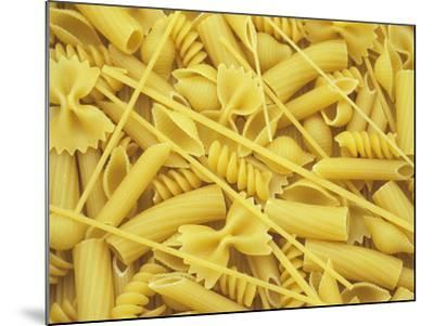 A Selection of Popular Pasta Shapes-Wally Eberhart-Mounted Photographic Print