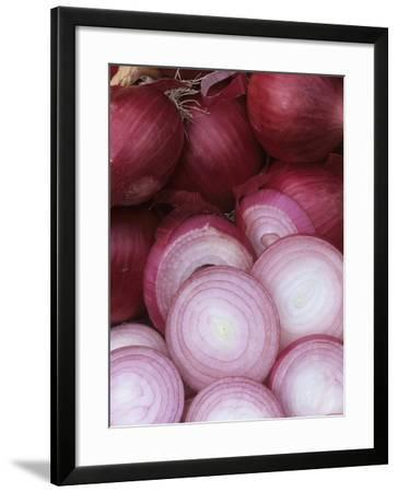 Ruby Ring' Red Storage Onions from a Home Garden-Wally Eberhart-Framed Photographic Print