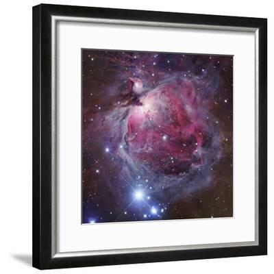 M42, the Great Nebula in Orion-Robert Gendler-Framed Photographic Print