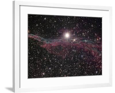 NGC 6960, the Witch's Broom Nebula in Cygnus-Robert Gendler-Framed Photographic Print