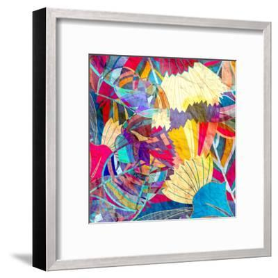 Abstract Colorful Watercolor-tanor27-Framed Art Print