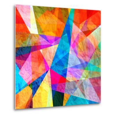 Colorful Abstract Background-tanor27-Metal Print