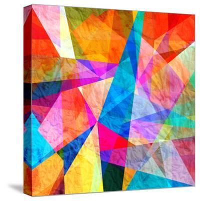 Colorful Abstract Background-tanor27-Stretched Canvas Print