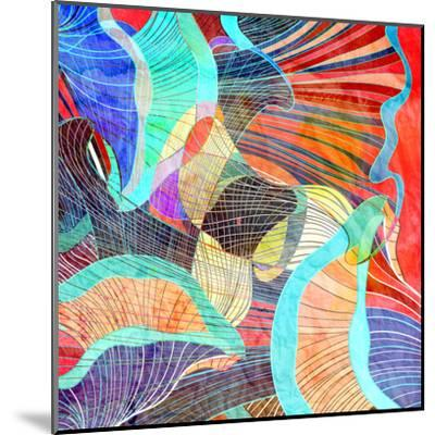 Abstract Background-tanor27-Mounted Art Print