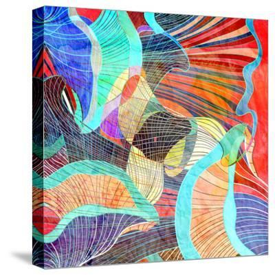 Abstract Background-tanor27-Stretched Canvas Print