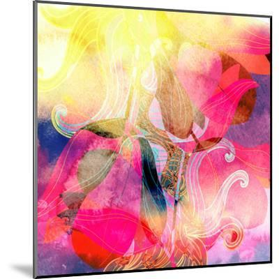 Abstract Watercolor Background-tanor27-Mounted Art Print