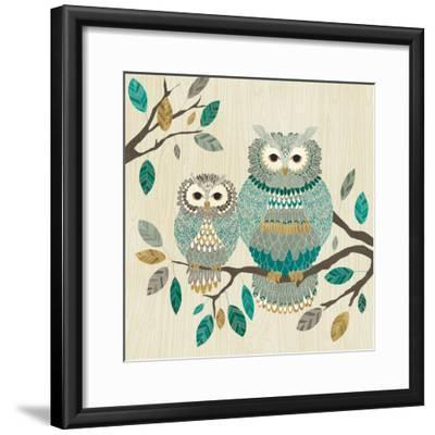 Cool Feathers I-Veronique Charron-Framed Art Print