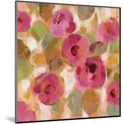 Glorious Pink Floral III-Silvia Vassileva-Mounted Art Print