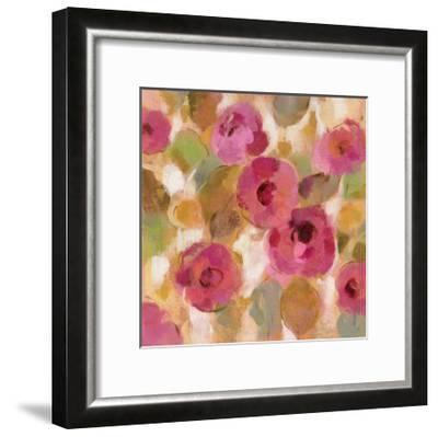 Glorious Pink Floral III-Silvia Vassileva-Framed Art Print