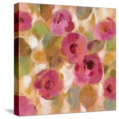 Glorious Pink Floral III-Silvia Vassileva-Stretched Canvas Print