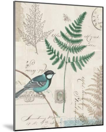 En Bleu I-Katie Pertiet-Mounted Art Print
