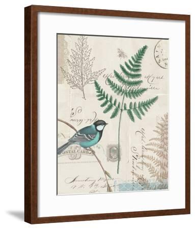 En Bleu I-Katie Pertiet-Framed Art Print