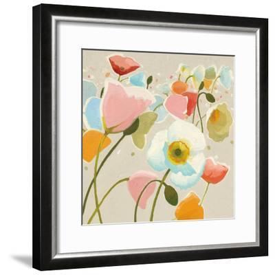 Backlit Confetti v2-Shirley Novak-Framed Art Print
