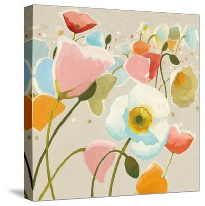 Backlit Confetti v2-Shirley Novak-Stretched Canvas Print