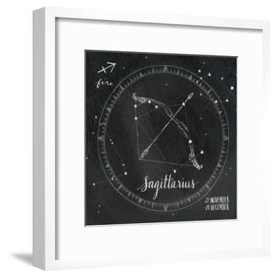 Night Sky Sagittarius.-Sara Zieve Miller-Framed Art Print
