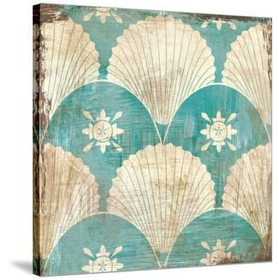 Bohemian Sea Tiles I-Cleonique Hilsaca-Stretched Canvas Print