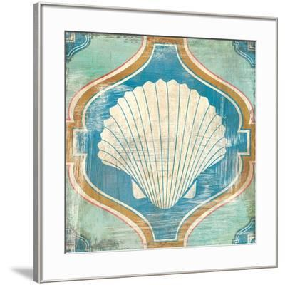Bohemian Sea Tiles II-Cleonique Hilsaca-Framed Art Print