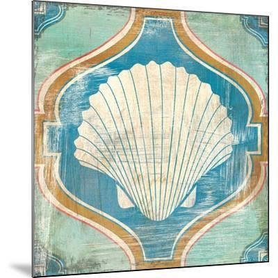 Bohemian Sea Tiles II-Cleonique Hilsaca-Mounted Art Print