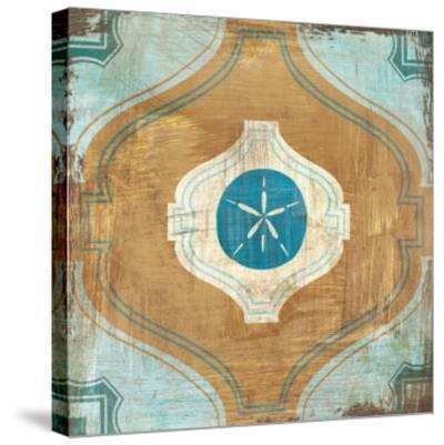 Bohemian Sea Tiles VII-Cleonique Hilsaca-Stretched Canvas Print
