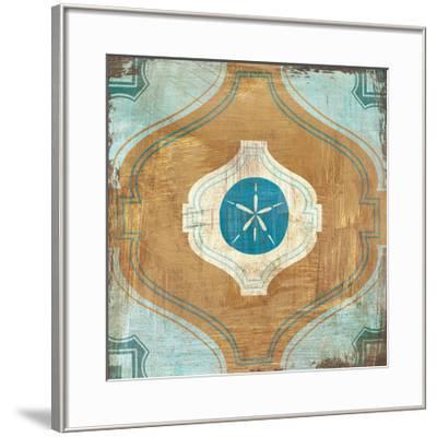 Bohemian Sea Tiles VII-Cleonique Hilsaca-Framed Art Print