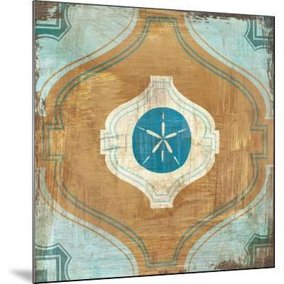 Bohemian Sea Tiles VII-Cleonique Hilsaca-Mounted Art Print