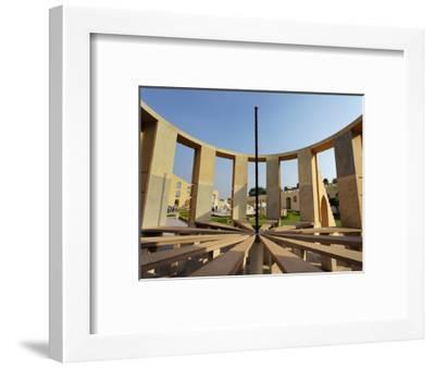 Jantar Mantar in Jaipur, One of Six Major Observatories Built by Maharajah, India-Adam Jones-Framed Photographic Print