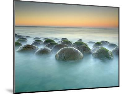 These Sandstone Concretions at Bowling Ball Beach Near Point Arena-Patrick Smith-Mounted Photographic Print