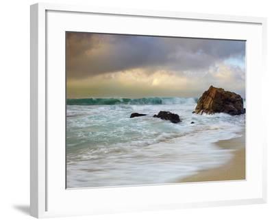 Crashing Waves, Garrapata State Park, Big Sur, California, USA-Patrick Smith-Framed Photographic Print