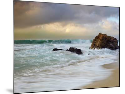 Crashing Waves, Garrapata State Park, Big Sur, California, USA-Patrick Smith-Mounted Photographic Print