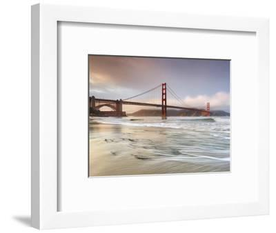 Golden Gate Bridge and Marin Headlands, San Francisco, California, USA-Patrick Smith-Framed Photographic Print