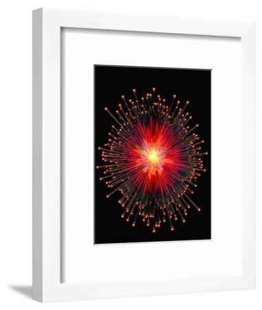Computer Artwork of Neutrinos-Carol & Mike Werner-Framed Photographic Print