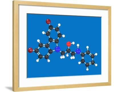 P7C3 Molecular Model-Carol & Mike Werner-Framed Photographic Print