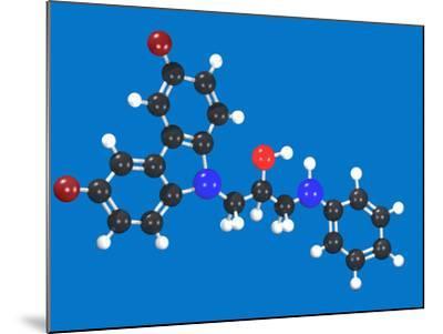 P7C3 Molecular Model-Carol & Mike Werner-Mounted Photographic Print