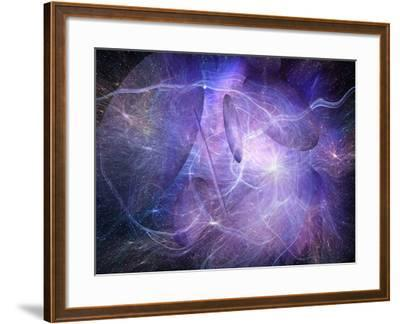 Artist's Concept of Strings and Superstrings-Carol & Mike Werner-Framed Photographic Print